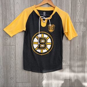 NHL Boston Bruins•  Half Sleeve Team Shirt